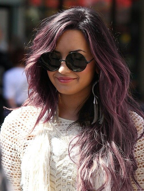 It S A Sunglass Kind Of Day 28 Photos Hair Ideas Hair Purple