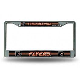 Philadelphia Flyers Bling Chrome License Plate Frame