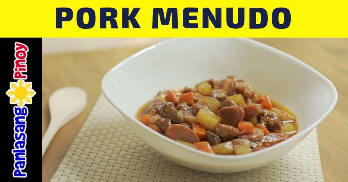 How To Cook Pork Menudo Filipino Recipe Panlasang Pinoy Recipe Pork Menudo Recipe Recipes Filipino Pork Menudo Recipe