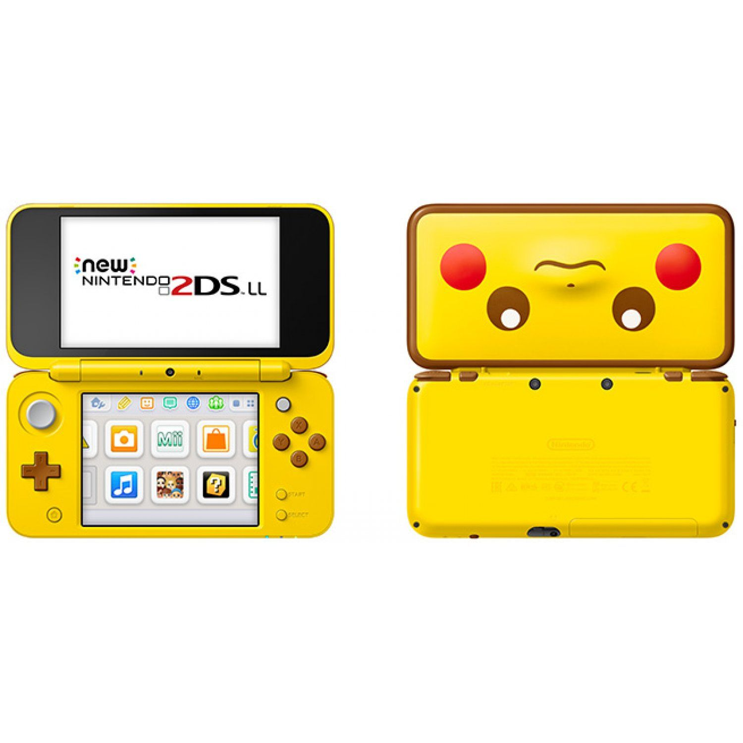 New Nintendo 2DS LL [Pikachu Edition] | Nintendo 3ds ...