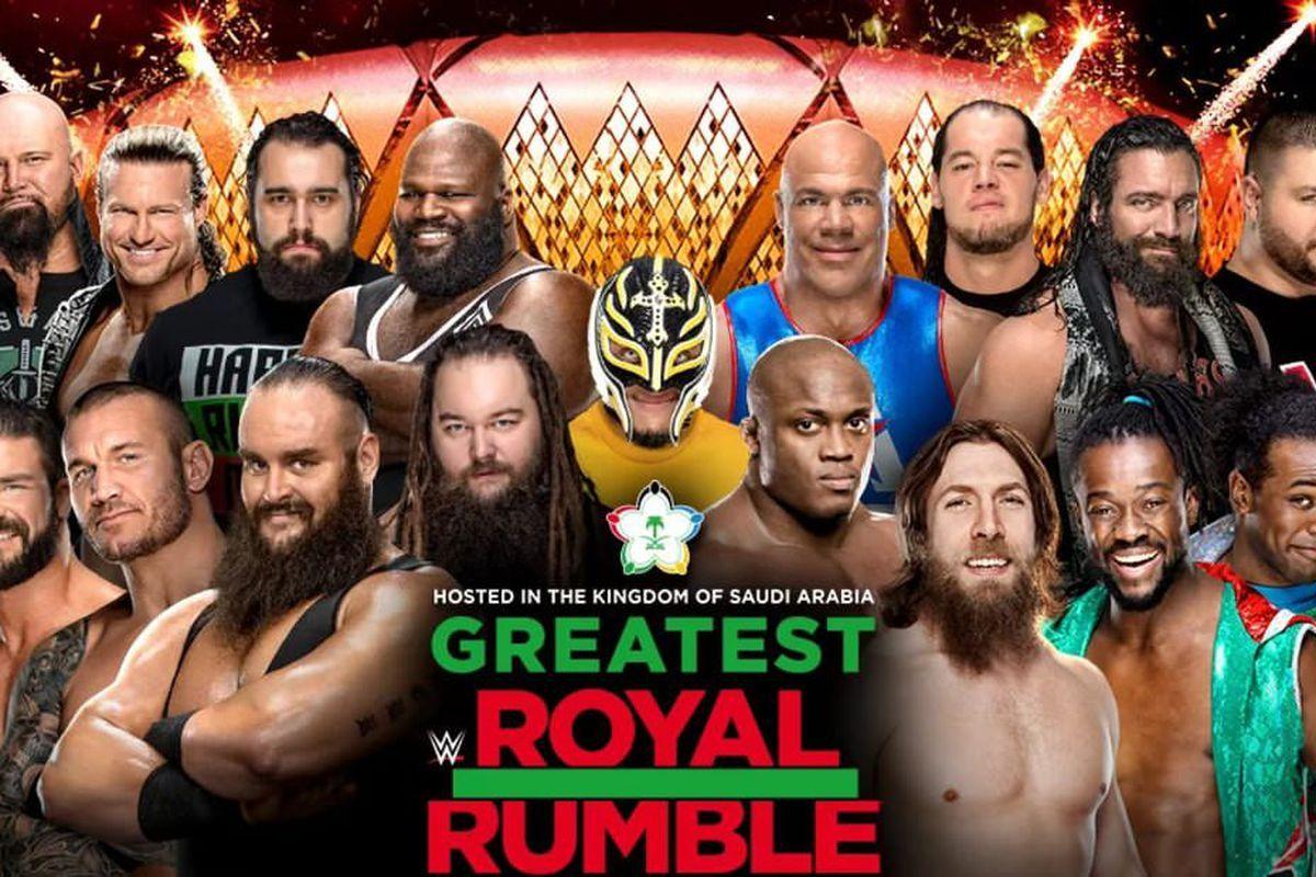 Royal rumble, Pro wrestling