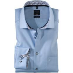 Photo of Olymp Luxor Shirt, modern fit, Global Kent, Bleu, 46 Olympolymp