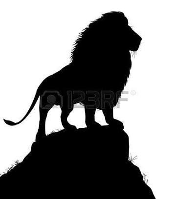 STICKER AUTOCOLLANT POSTER A4 ANIMAUX AFRIQUE SAVANE LE LION ROI DES ANIMAUX.