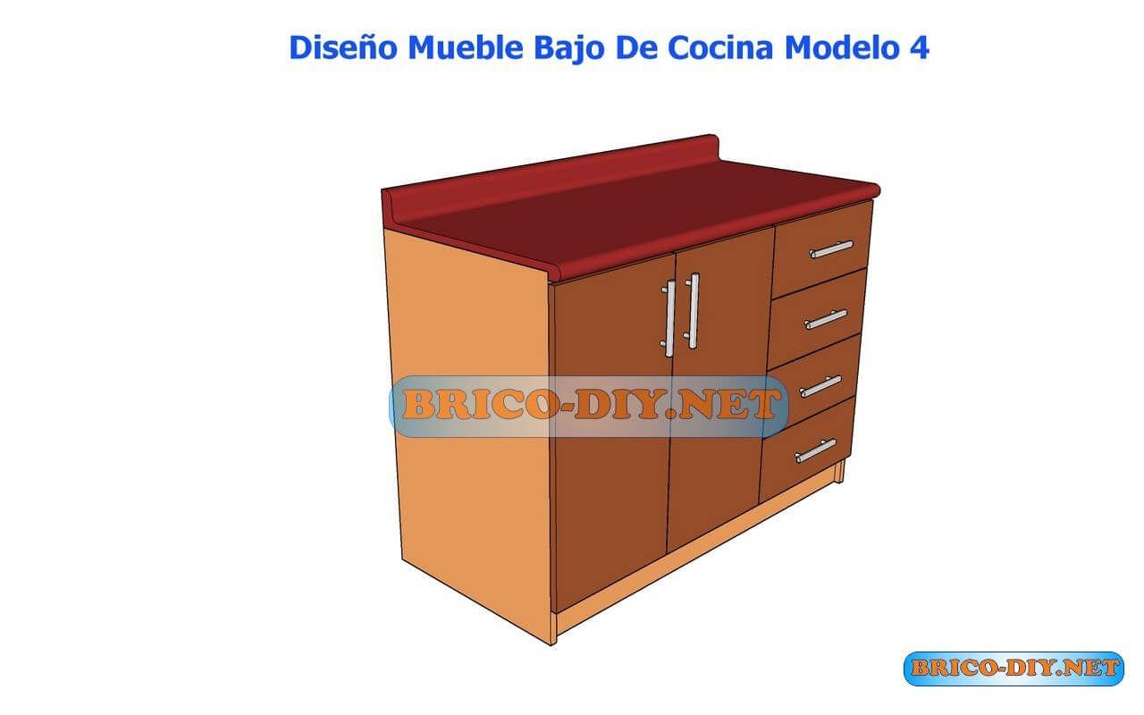 Http Www Brico Diy Net 2016 11 Muebles De Cocina Bajo Mesada  # Muebles De Cocina Hazlo Tu Mismo