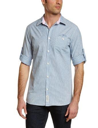 Pepe Jeans Men's Colorado Coupe cintrée Classic Long sleeve Shirt: Amazon.co.uk: Clothing