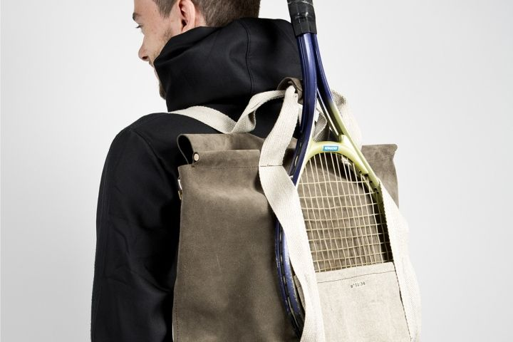 Ern Est Tennis Backpack By Anais Bourcier Ophelie Brunet Bettina Rambaud Retail Design Blog Tennis Backpack Backpacks Sling Backpack