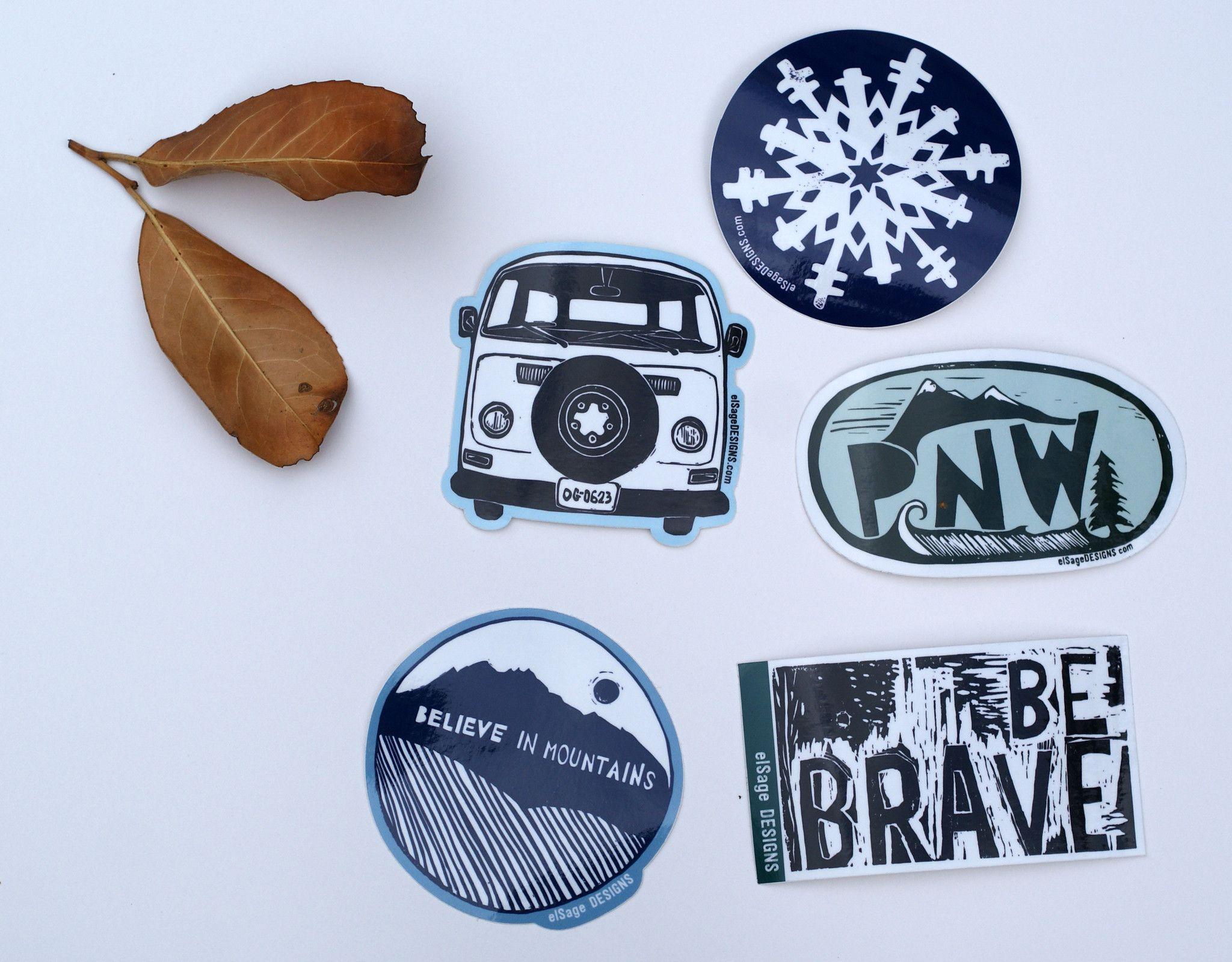 Believe In Mountains Sticker Stickers Cool Stickers Rad Stickers [ 1599 x 2048 Pixel ]