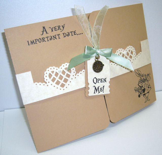alice in wonderland wedding invitations google search - Alice In Wonderland Wedding Invitations