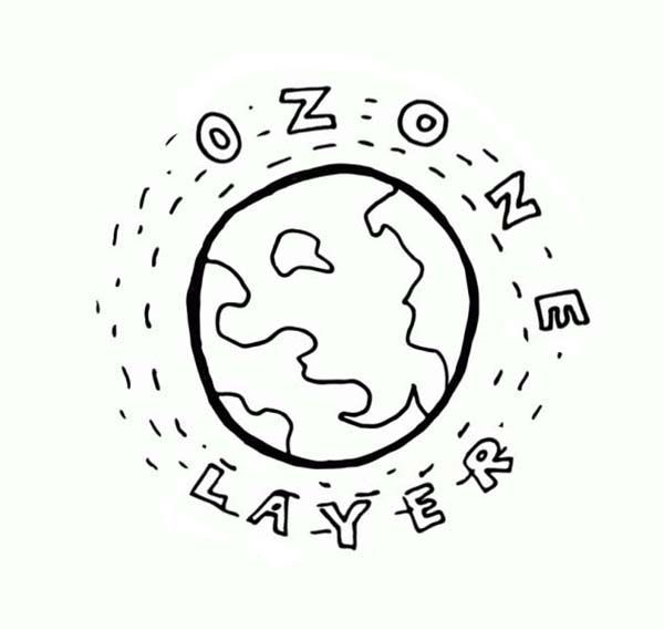 Free Coloring Pages Of Layers Of Atmosphere Earth Day Coloring Pages Coloring Pages Ozone Layer