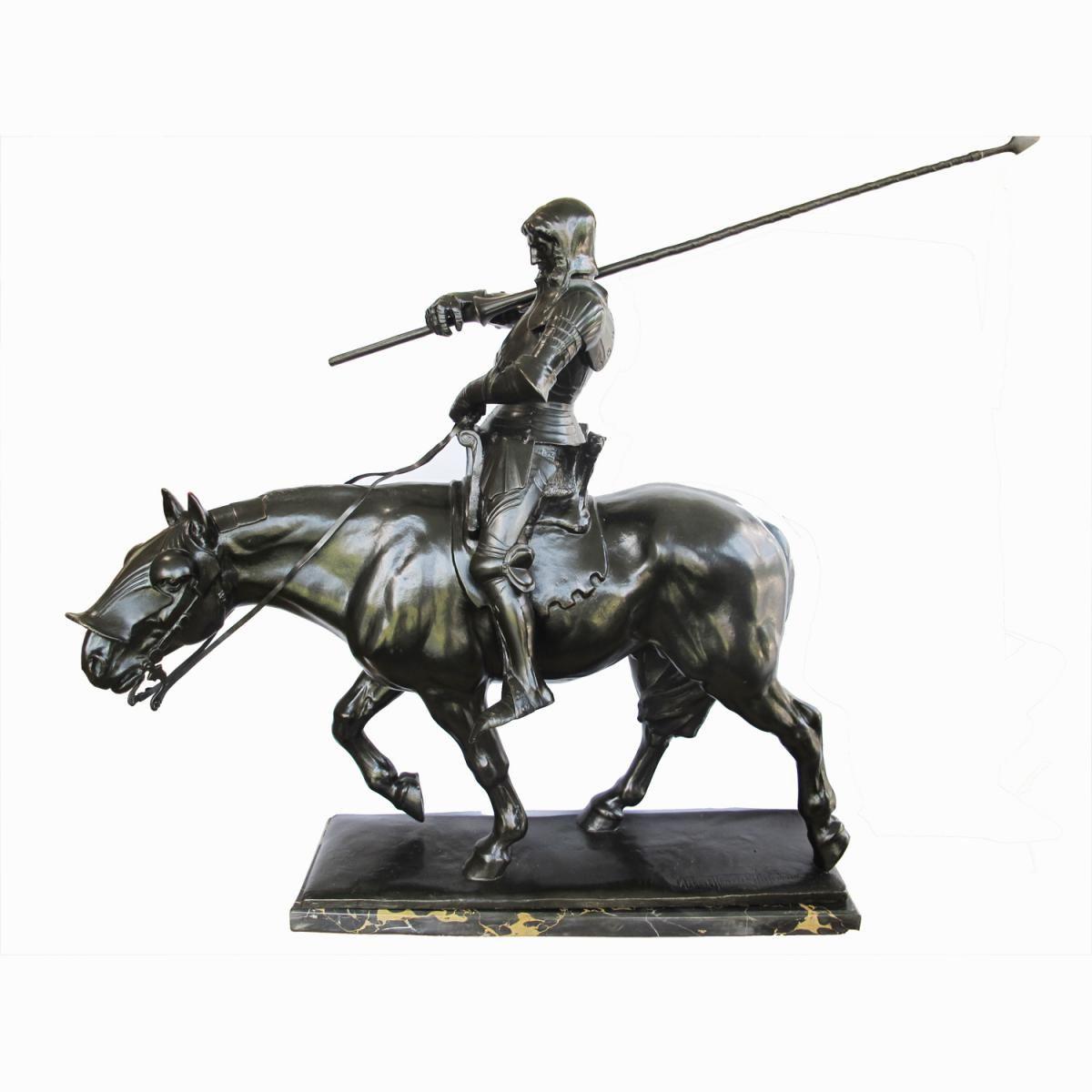 very large bronze by albert hinrich hussmann ruyten fine