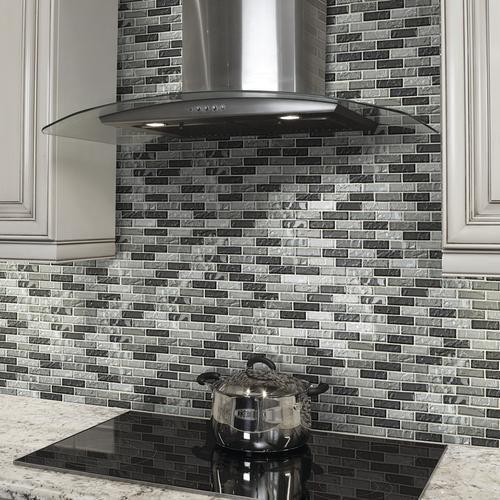 Mohawk® Grand Terrace Silver Medley Brick Joint 12 KItchen Remodel