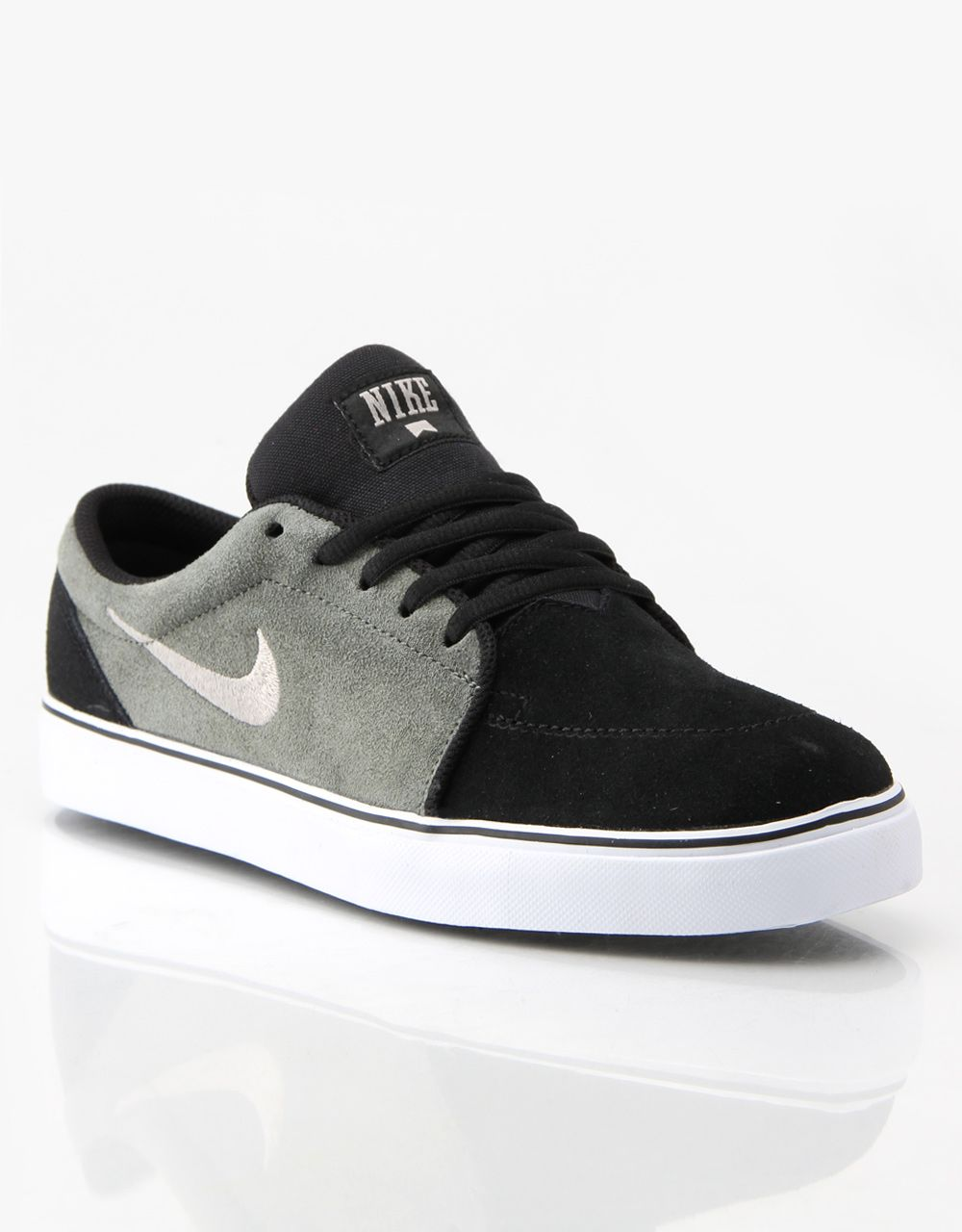 Nike SB Satire Skate Shoes - Mercury/Grey