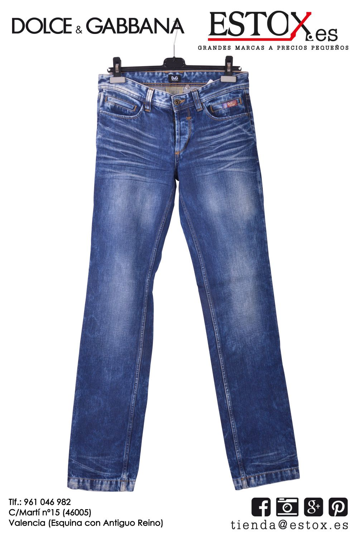 Pantalones Vaqueros Para Hombre Dolce Gabbana A Un Precio Increible Tan Solo A 22 40 Euros Si Eres Soci Y 24 90 En T Pantalones Hombres Dolce Gabbana