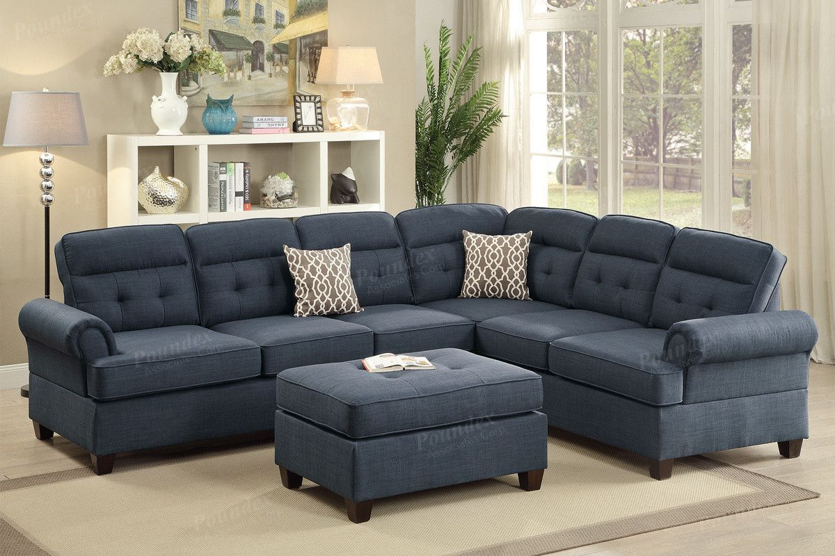 Poundex 2 Pcs Sectional Sofa F6987 Tv Couch Pinterest Products