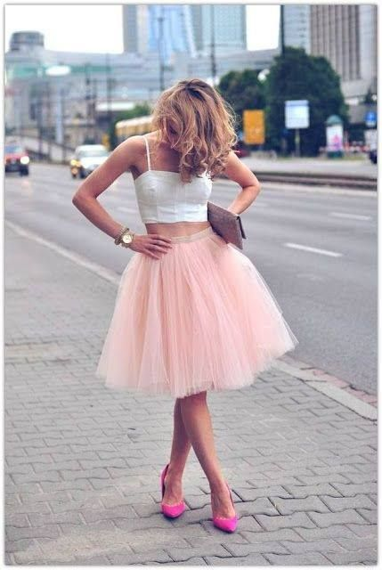 Pink Tulle for Vegas <3