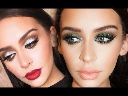 2 Holiday Party Makeup Looks! #carlibybel #makeuptutorial #howto