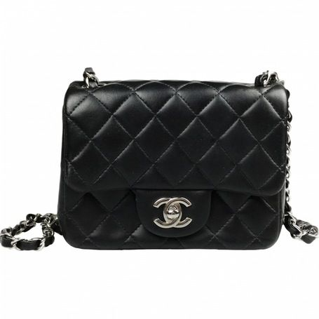 b31c41d56b77 Chanel Mini, Chanel Black, Chanel Handbags, Luxury Consignment, Luxury Bags,  Leather