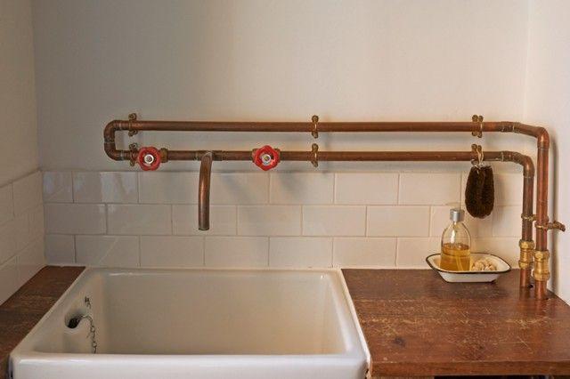 copper heating pipes architecture google zoeken hausbau ideen pinterest kupfer hausbau. Black Bedroom Furniture Sets. Home Design Ideas