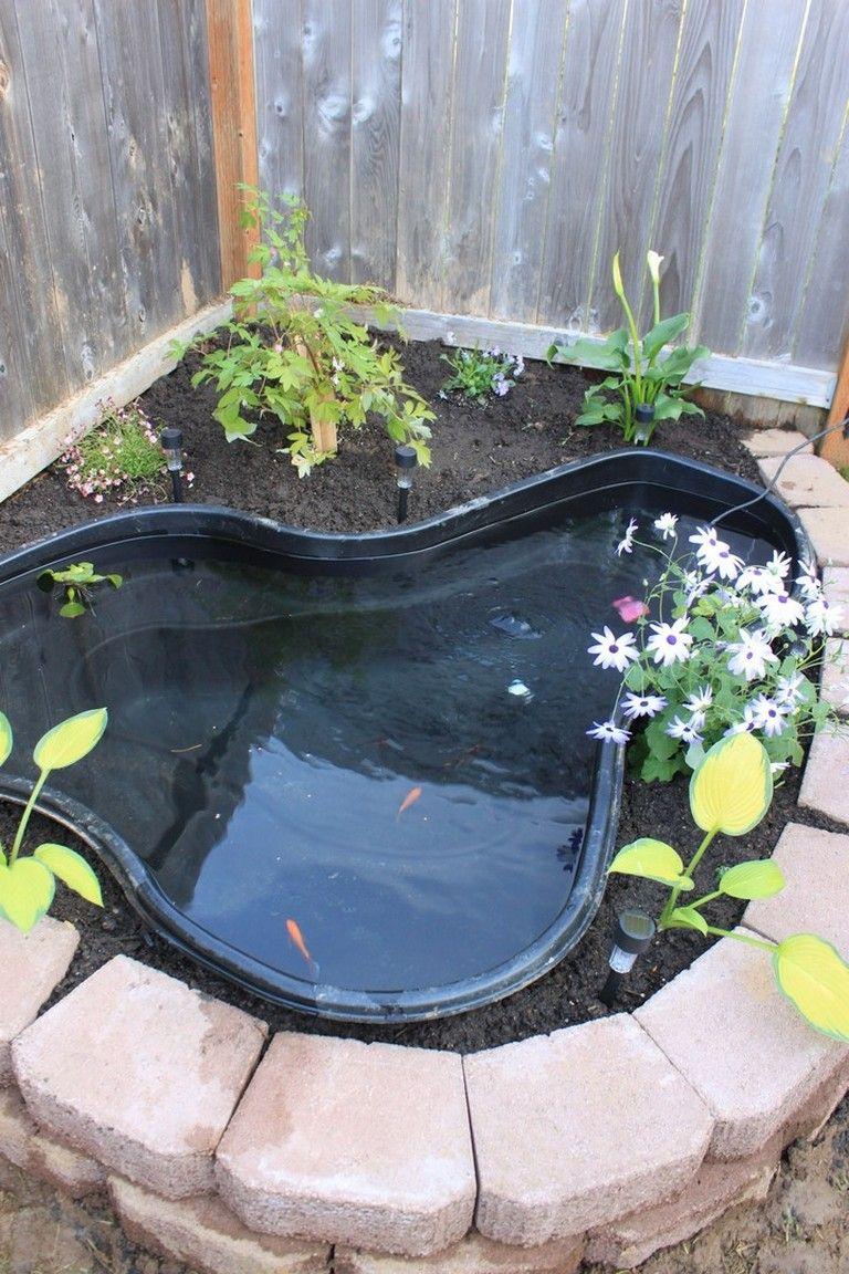 50 Admirable Small Garden Backyard Aquariums Ideas With Images Small Backyard Ponds Ponds Backyard Small Water Gardens