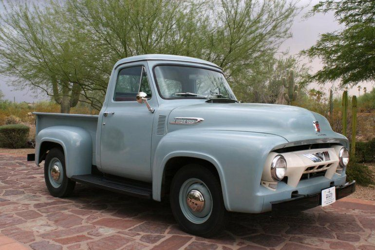 1954 Ford F100 With Images 1954 Ford 1954 Ford Truck 1952