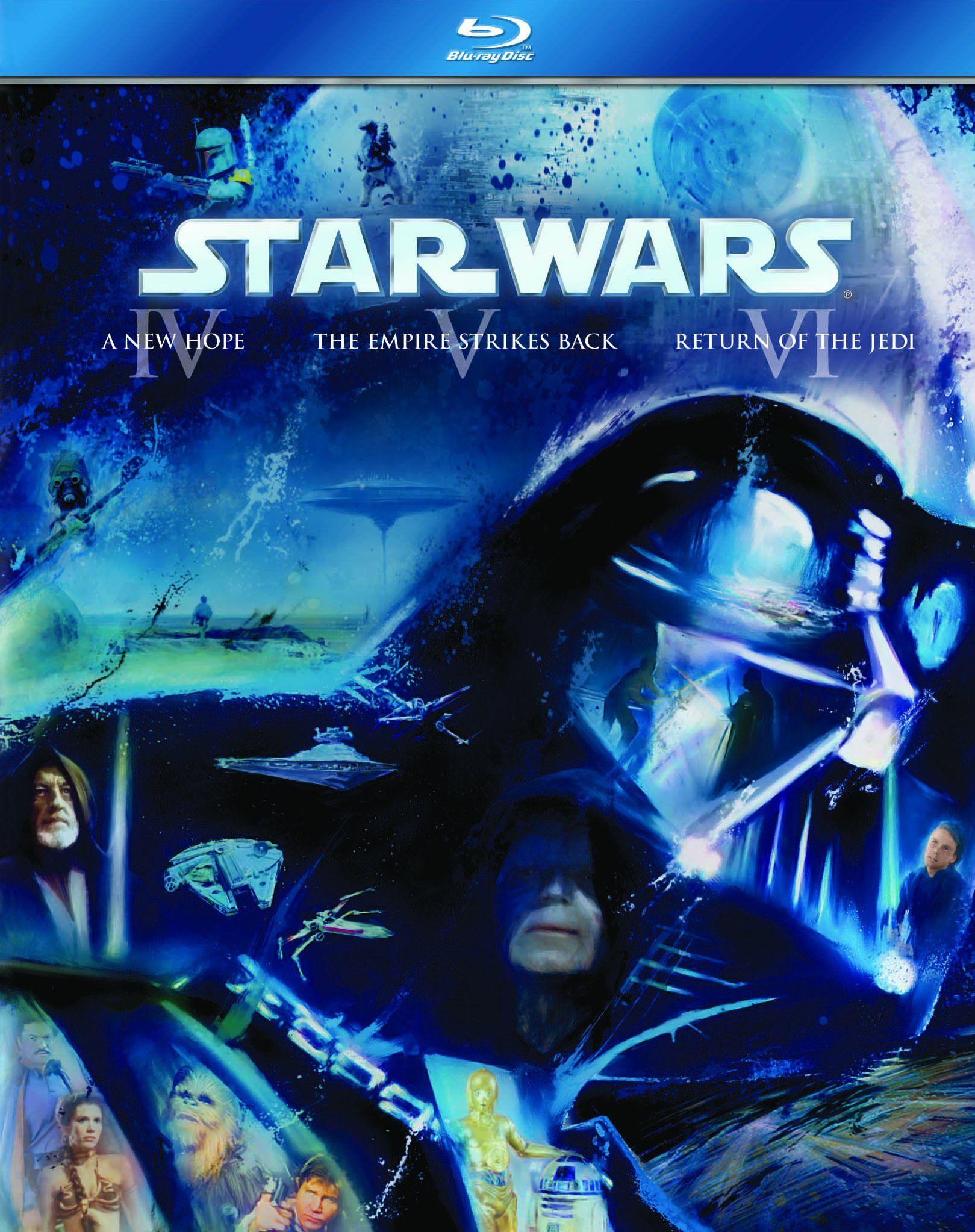 Blu Ray - The Complete Saga (9 discs)   The Cantina