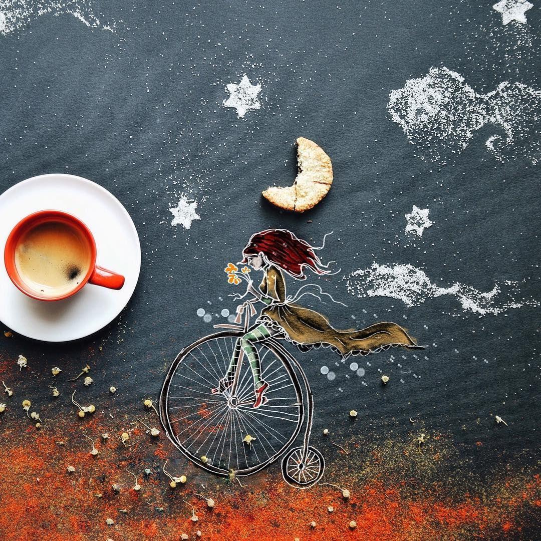 Sweet Dreams Till Sunbeams Find You Sweet Dreams That Leave All Worries Behind You But In Your Dreams Whatever Th Iskusstvo Prigotovleniya Kofe Risunki Fud Art