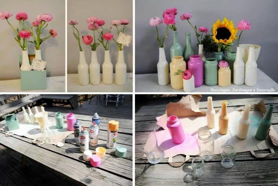 Love this. Saw it on Reciclagem, Jardinagem e Decoraçao on fb