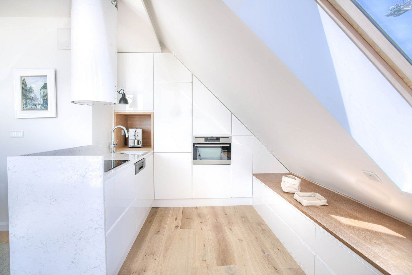 Kitchen Slopedceiling Home Kitchen Design Decor