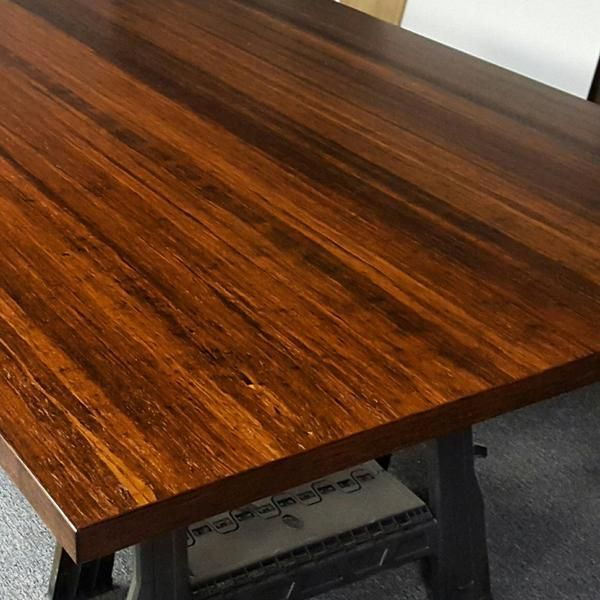 Handmade Custom Bamboo Table Tops Available In Any Size Large Qty Discounts For Restaurants And Commercial Table Tops Solid Wood Table Tops Bamboo Table Table