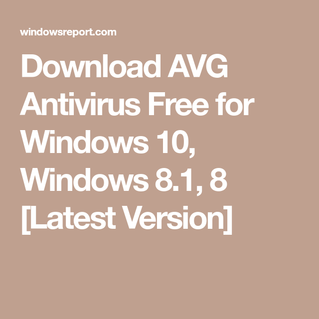 all antivirus free download for windows 8