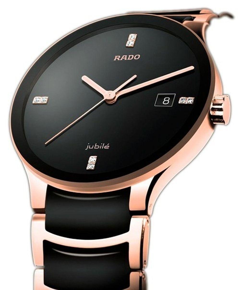 82d4024b165 Rado jubile centrix is a stylish genuine swiss movement stylish  watchSpecification  Model  Rado jubile centrix rose gold Brand  Rado  Gender  Men Strap ...