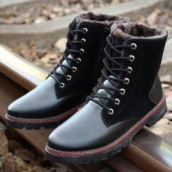 Gamiss - Gamiss Vintage Suede Spliced Boots - AdoreWe.com