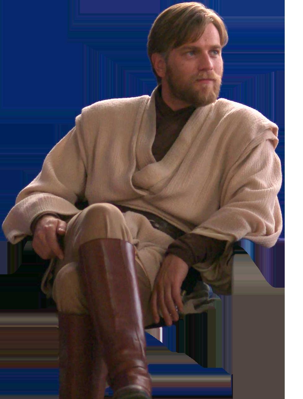 Obi-Wan Kenobi Sitting | #cutouts | Pinterest