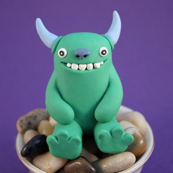 Modeling Clay Monsters 70 Photos Clay Monsters Easy Clay Sculptures Cute Clay