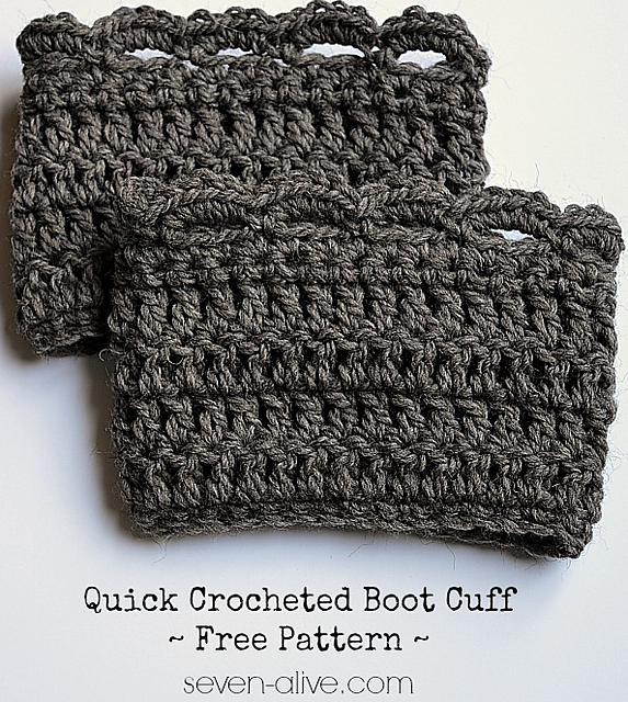 Crochet Patterns Galore - Quick Boot Cuff | crochet little things ...