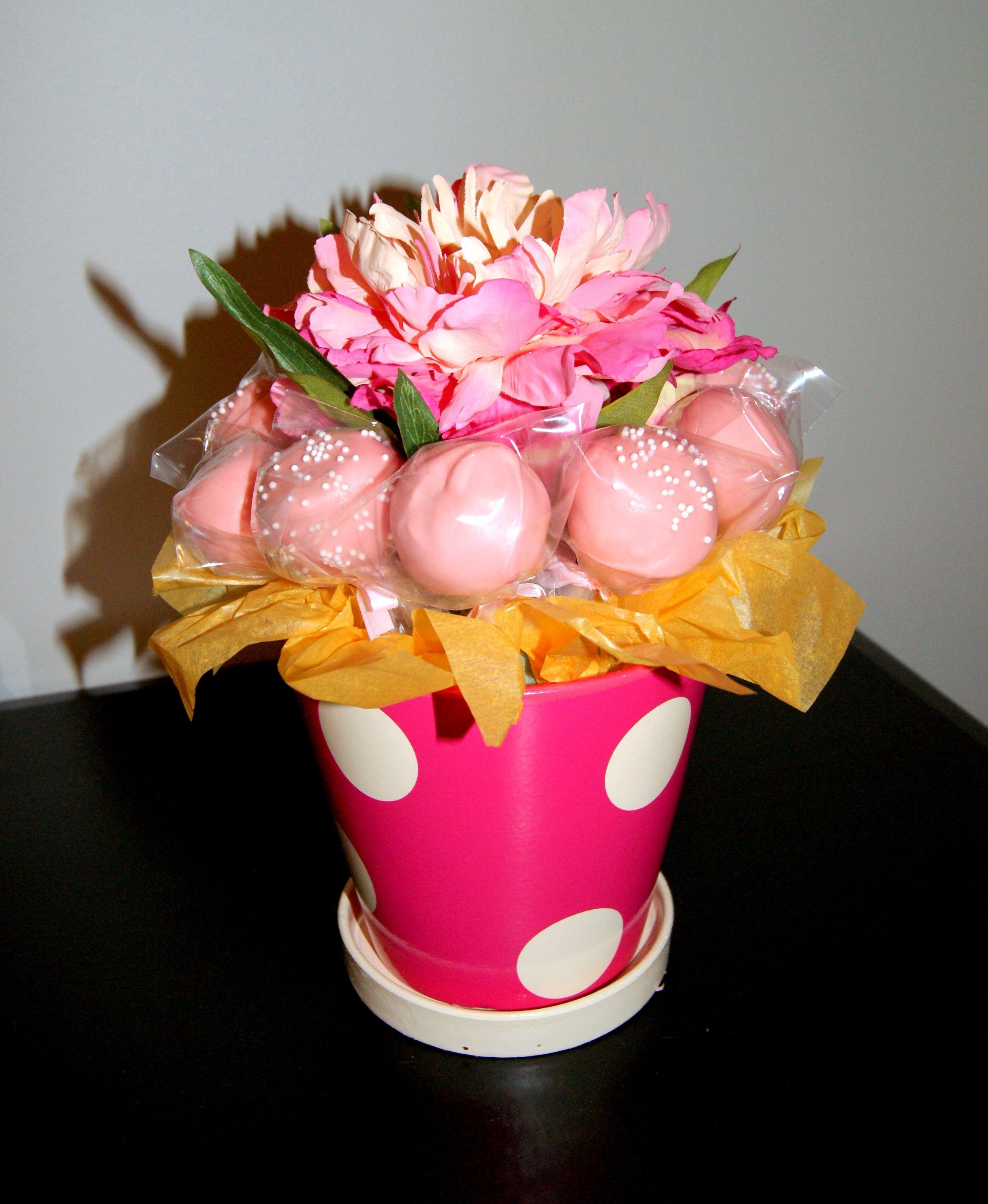 Cake Pop Flower Pot Recipes Pinterest Cake Pop Cake And Cake