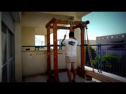 Power rack selber bauen  THE BEST HOMEMADE GYM (POWER RACK) - YouTube | Workout stuff/ DIY ...