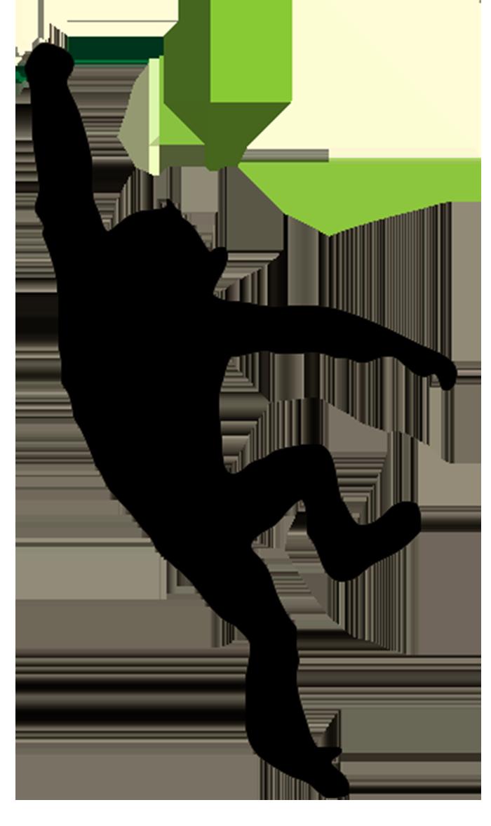 monkey silhouette clipart [ 700 x 1177 Pixel ]