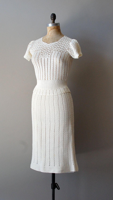 Crochet dress etsy