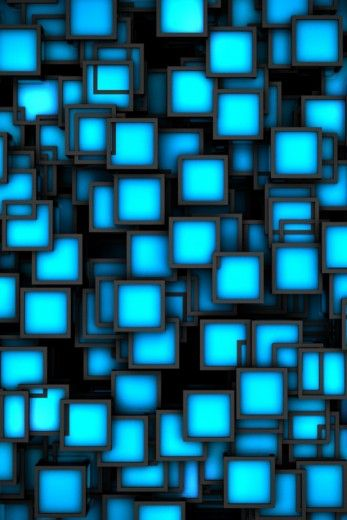 Blokje blau