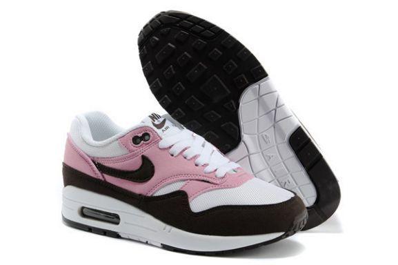 Nike Air Max 1 Essential Femme Blanc Rose Old Brown