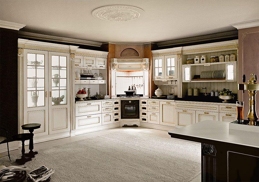 Cucina classica bianca 30 | Cucine | Pinterest | Cucina