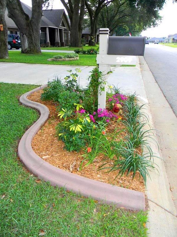 charming flower beds