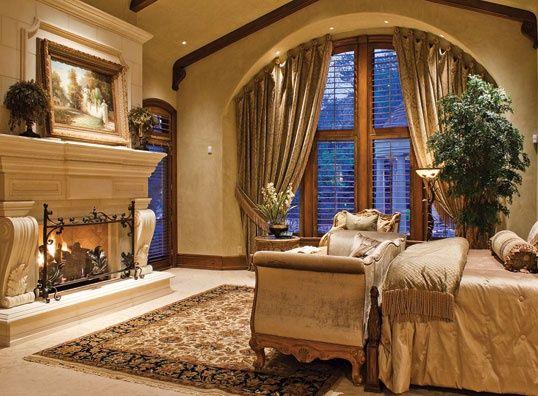bedroom old world tuscan