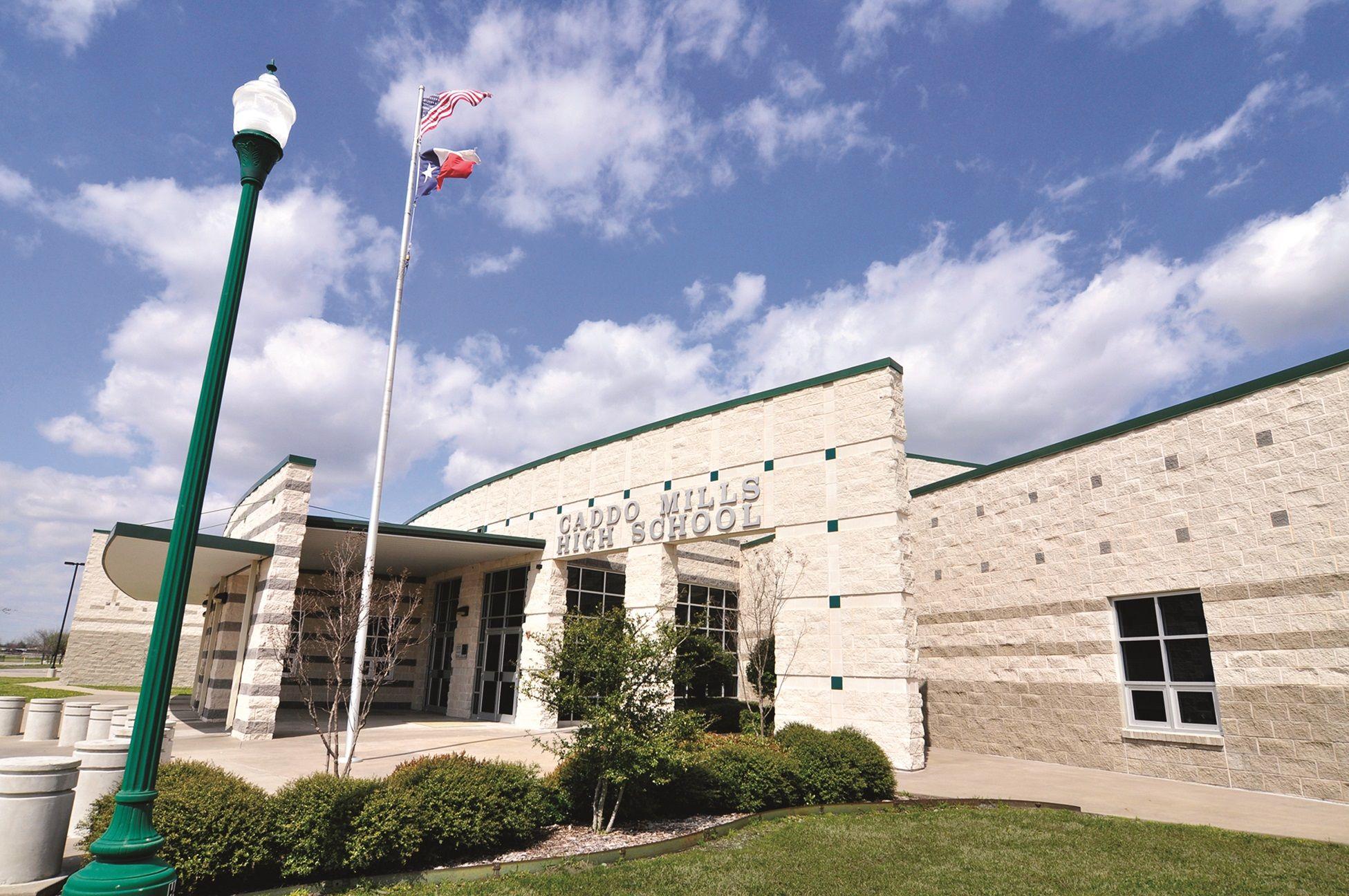 Caddo Mills High School, Caddo Mills, Texas, Split Face and