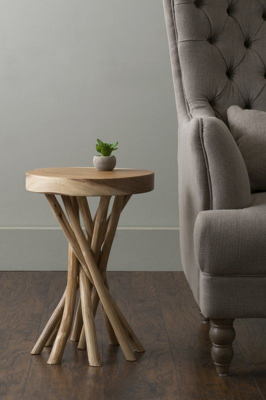 Cordova End Table Wood end tables, Accent table