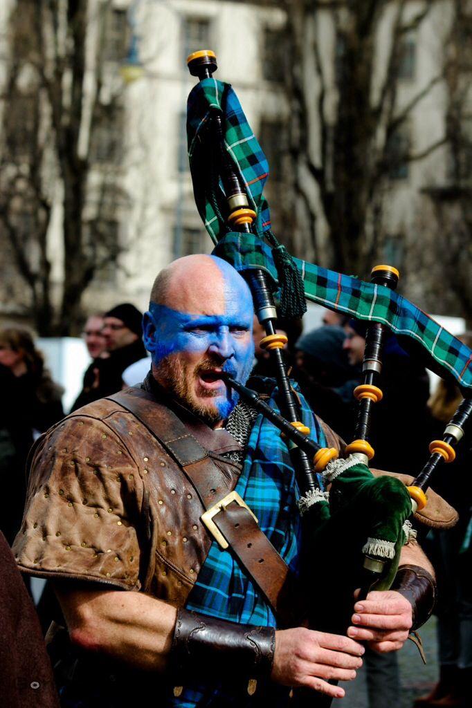 I am warrior freedom for Scotland