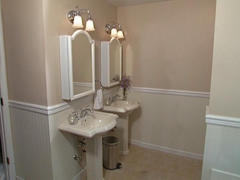 bathroom decorating ideas beadboard - Bathroom Designs Using Beadboard