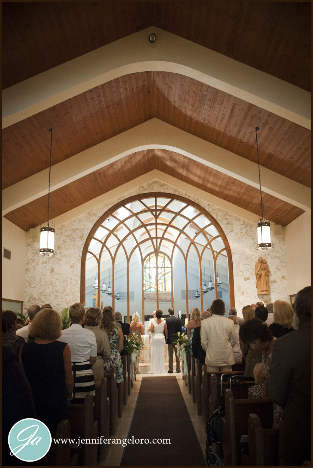 Fort Myers Church of the Resurrection Wedding Ceremony