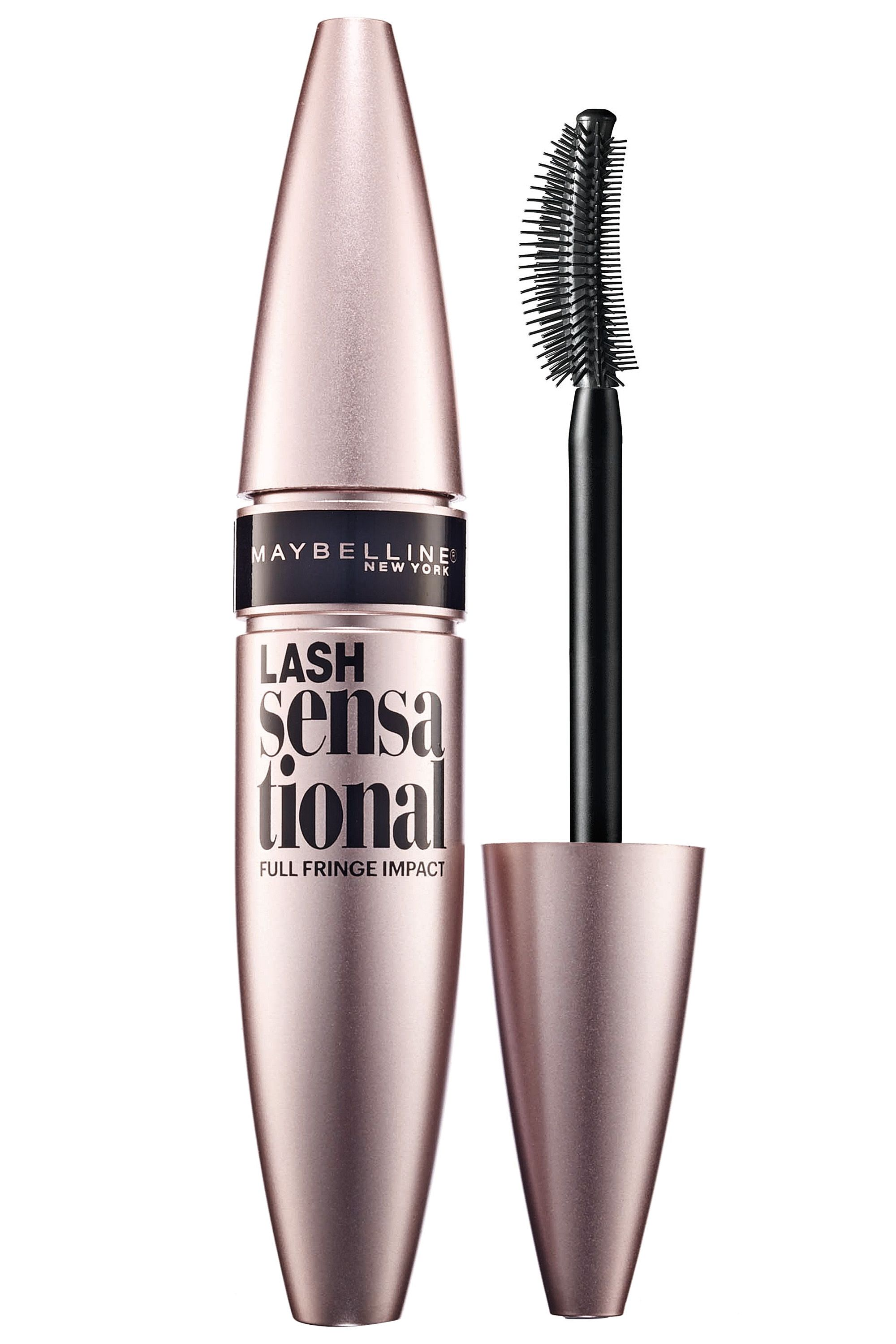 79d4431865f Maybelline New York Lash Sensational Mascara in Very Black, $8.99,  maybelline.com. - HarpersBAZAAR.com